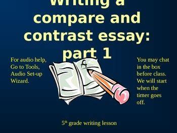 Free comparison contrast essay music